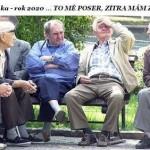 Důchodci 2020: Noční