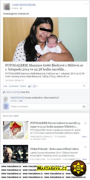 Nekorektní Facebook: Kníra mám